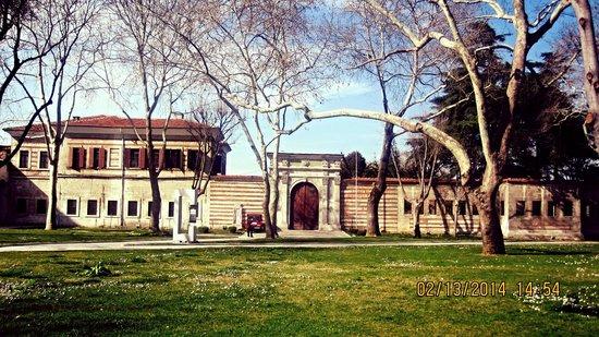 Historische Viertel von Istanbul: taken inside topkapi palace