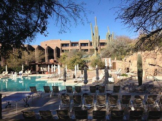 Loews Ventana Canyon Resort: Pool area, beautiful!