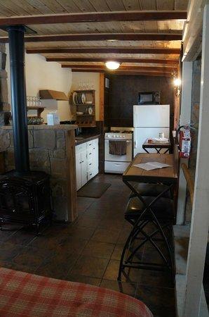 Della Terra Mountain Chateau: Kitchen
