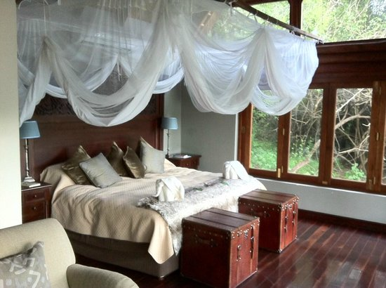 Royal Chundu Luxury Zambezi Lodges: Quarto 4 Island Lodge