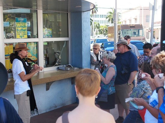 Miami Culinary Tours - Private Tours : Getting some good Cuban Coffee with Mirka