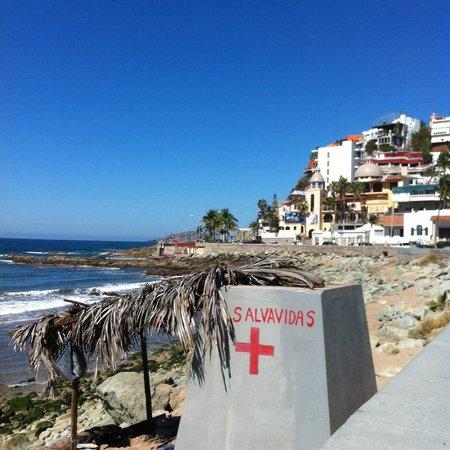 Playa Olas Altas: The Lifeguard Shack at Olas Altas