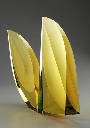 Habatat Galleries: Glass art piece by Martin Rosol