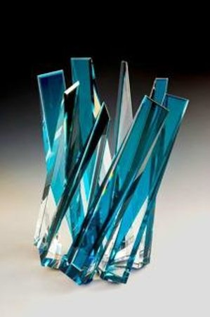 Habatat Galleries: Glass art piece by Michael Taylor