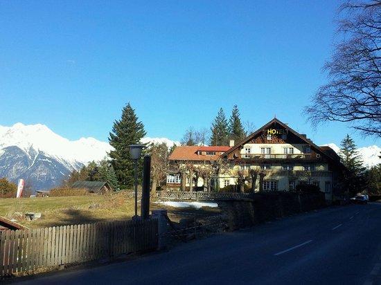 Hotel Grünwalderhof from outside