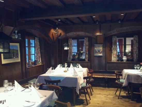 Hotel Grünwalderhof: The old dining room