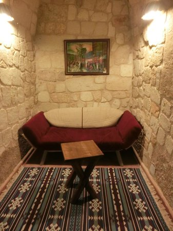 Hotel Cave Konak : TV Room (Located at the Basement)