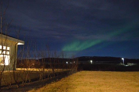 Hotel Grimsborgir : Northern lights