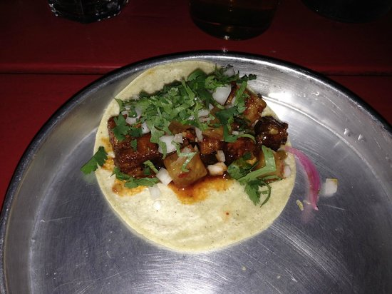 Grand Electric: Pork Belly Taco