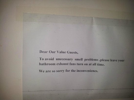Floral Breeze Hotel: Avvertimenti