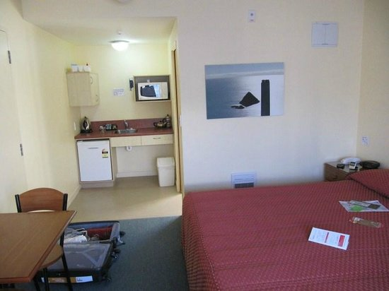Bella Vista Motel New Plymouth: the usual functional character of the rooms