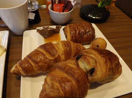 Mercure Paris Montmartre Sacre Coeur : colazione