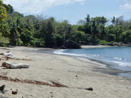 Cano Island: plage où nous sommes arrêter pour luncher