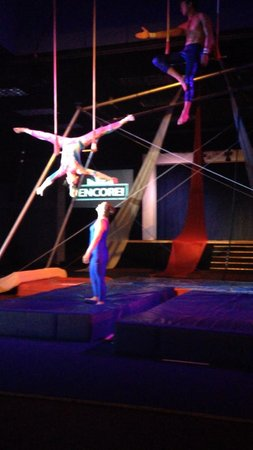 Club Med Sandpiper Bay: Our Kid Performing in the Circus Show