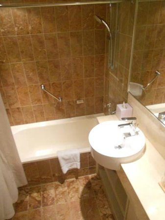 Pullman Auckland : My bathroom was a bit on the small size, but it was clean and functional. No complaints.