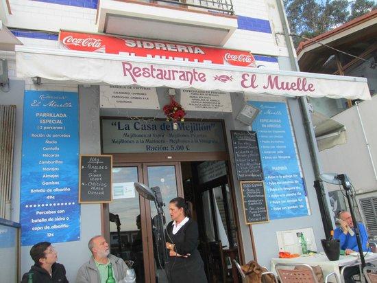 Restaurante El Muelle: Servicio amable