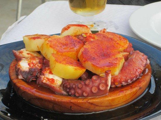 Restaurante El Muelle: Pulpito