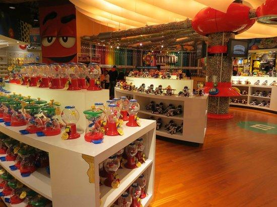 The Florida Mall: Cores e sabores