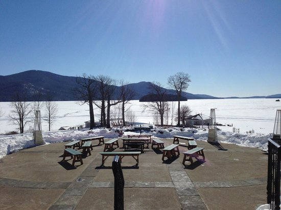 The Sagamore Resort: View from the patio