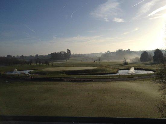 Ufford Park Woodbridge Hotel, Golf & Spa : Early morning in Feb