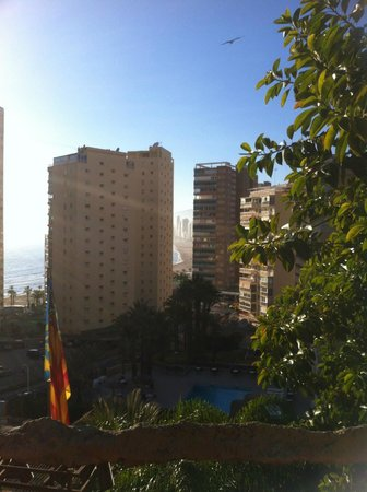 Magic Aqua Rock Gardens: View from hotel terrace