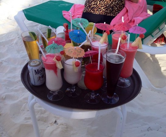 Grand Fiesta Americana Coral Beach Cancun: Many to choose from