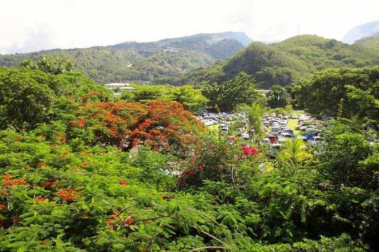 Le Meridien Tahiti: view of property from 6th floor