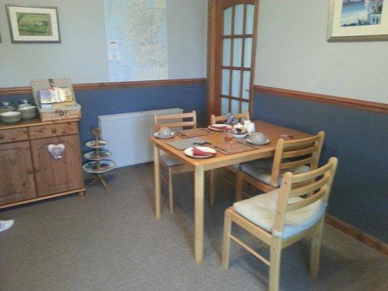 Upper Crawton Bed and Breakfast: Frühstücksraum