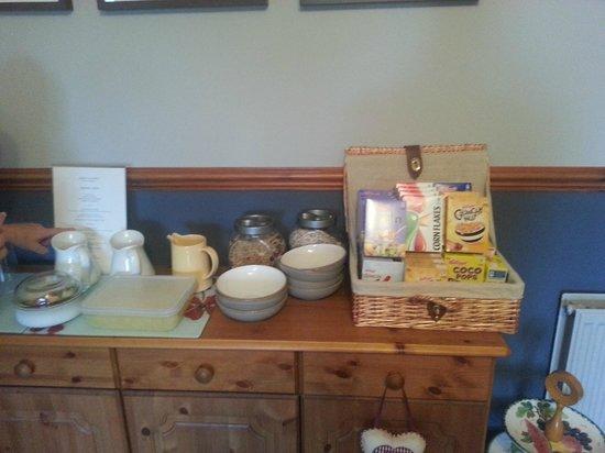 Upper Crawton Bed and Breakfast: Frühstück