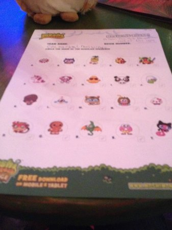 Alton Towers: moshi quiz