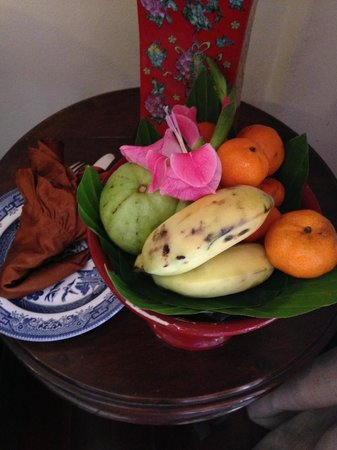 Puripunn Baby Grand Boutique Hotel: Welcome treats