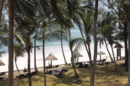Diani Sea Resort: view from our balcony