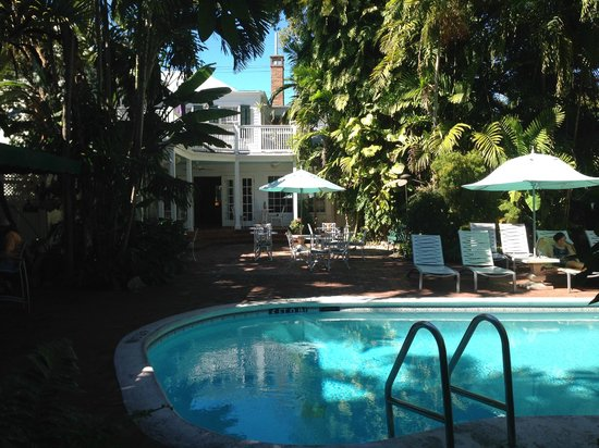 Court Yard And Garden Picture Of The Gardens Hotel Key West Tripadvisor