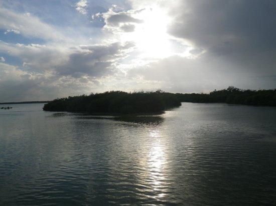 Espacio Natura: lagune le soir
