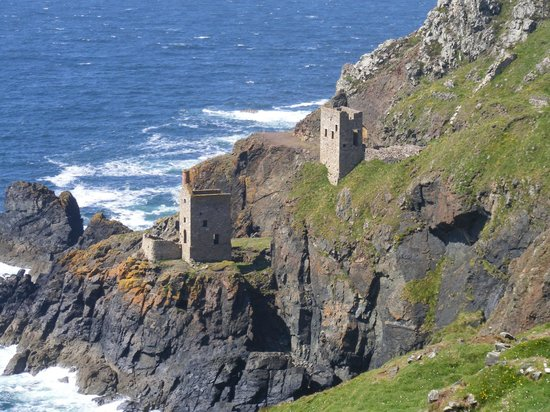 Harbour View Guest House: Botallack Mines near St Just