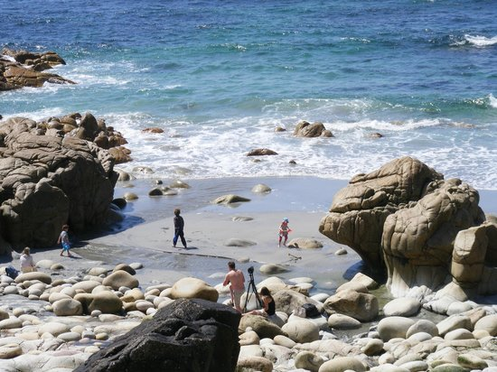 Harbour View Guest House: The Cot Valley beach