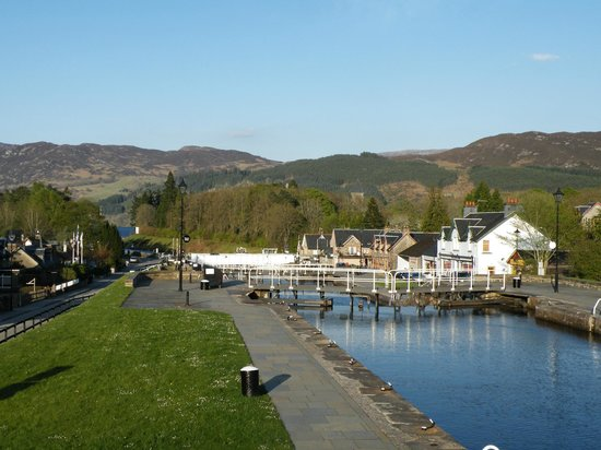Mavisburn Bed & Breakfast: Fort Augustus - Caledonian Canal & Locks