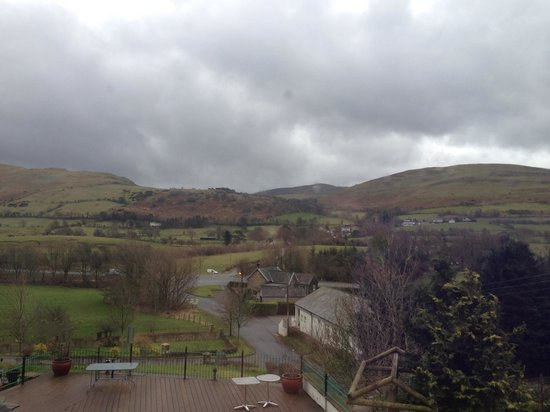 Embleton Spa Hotel: View from Thirlmere room in February 14