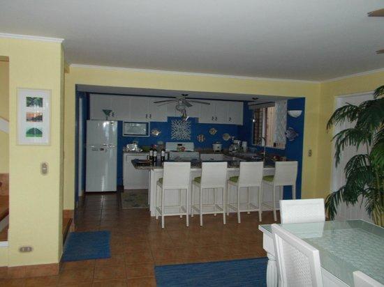 Bahia Pez Vela Resort: unit 1 kitchen