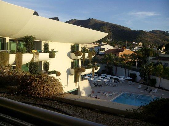 Hotel Deloix Aqua Center: vistas desde l'Habitación