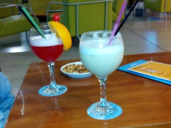 Hotel Deloix Aqua Center : cocteles exquisitos