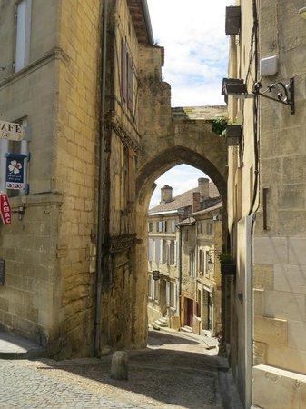 La Table 38 : within the city of Saint Emilion, France