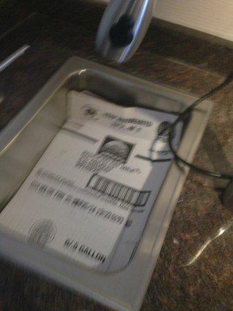Hampton Inn Danbury: This is the sink???