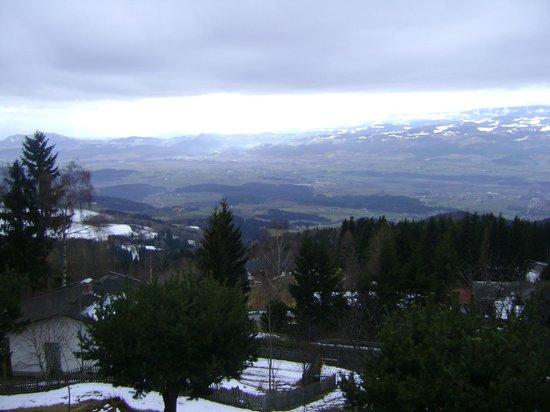 Alpengasthof Wolfgruber: Tolle Aussicht vom Zimmer aus!!!