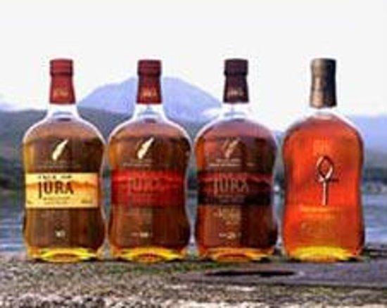Isle of Jura Distillery: The good stuff