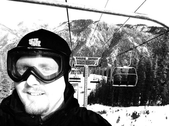 Taos Ski Valley: On the lift!