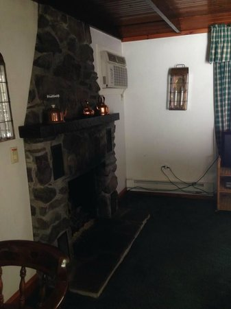 Crescent Lodge & Country Inn: gas firplace