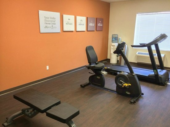 Comfort Suites San Antonio North Stone Oak: Fitness Center