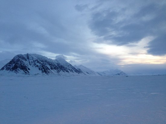 Isfjord Radio: Breathtaking nature!