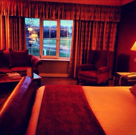 Ramside Hall Hotel, Golf & Spa: View on to golf course from room 346